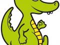 Dino - Vorlage